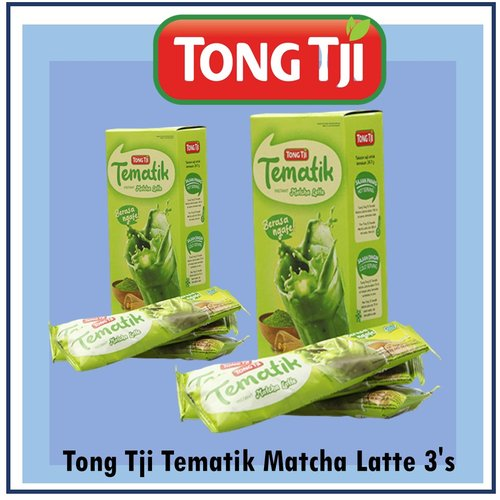 Tong Tji Tematik Matcha Latte 3 bag