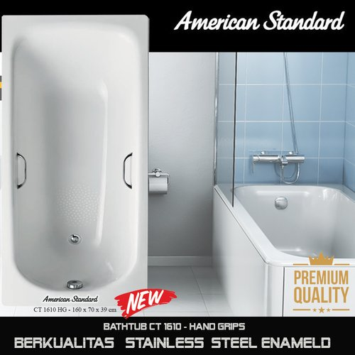 Flash Sale Bathtub American Standard steel enameld 160 cm