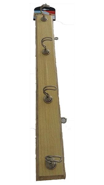KENMASTER Hanger Kayu 4 Pc
