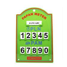 Kenmaster Papan Stand Meter PLN