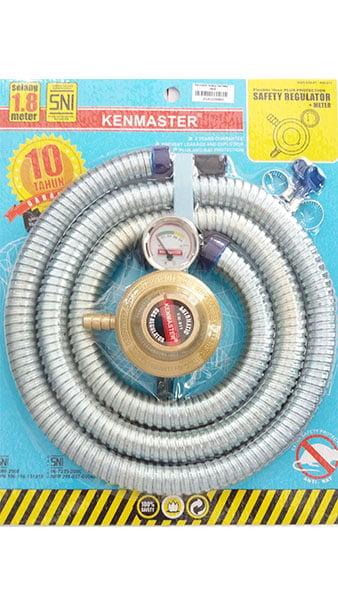 Meter Kenmaster Selang Gas Nekel+ Meter