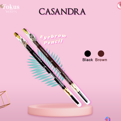 Casandra Eyebrow Pencil-Brown