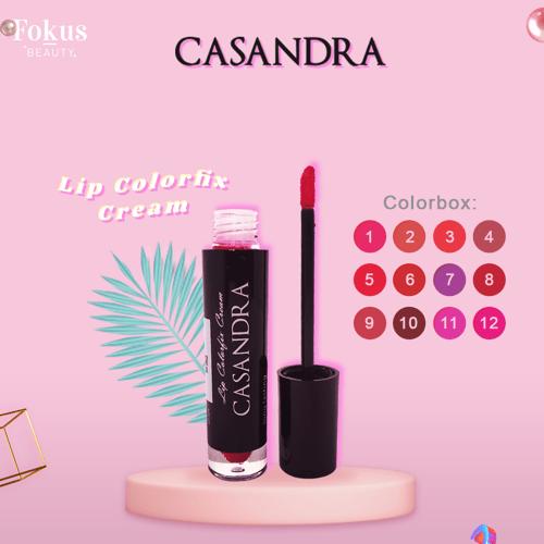 Casandra Lip Color fix Cream-No1