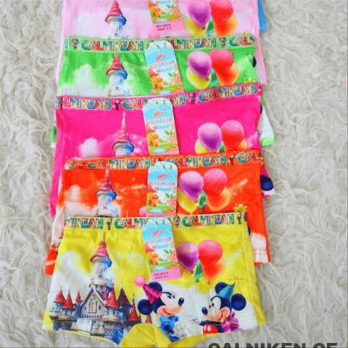 celana dalam anak perempuan boxer cd motif kartun animasi mickeymouse -11-13
