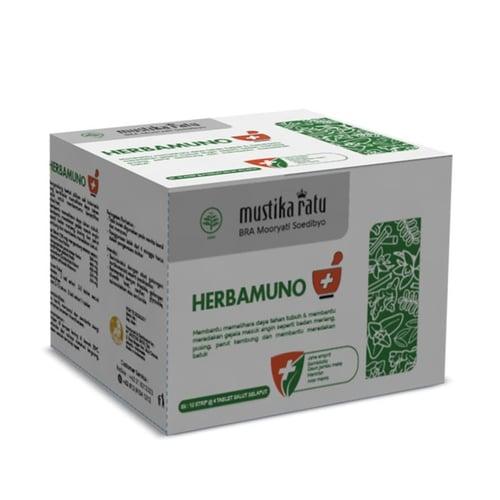 Mustika Ratu Herbamuno+ Immune Modulator- isi 1 box X 12 Strip
