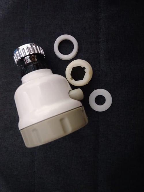 Sambungan saringan keran air wastafel faucet filter turbo sprayer