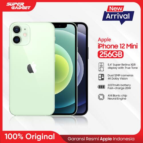 Apple iPhone 12 Mini Smartphone 256GB White - Garansi Resmi