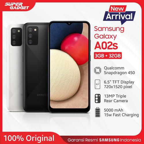 Samsung Galaxy A02s 3GB/32GB White - Garansi Resmi