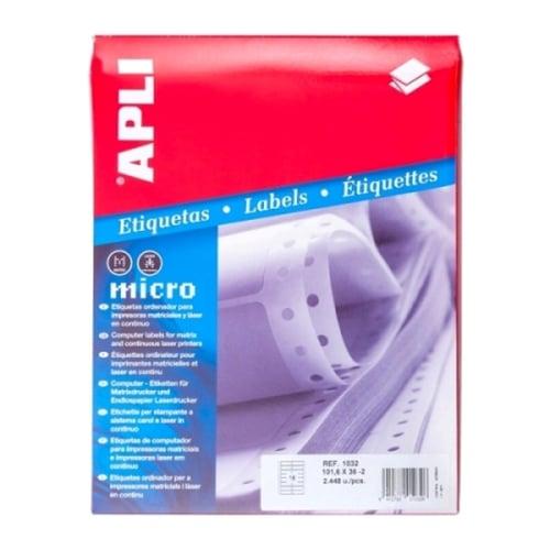 APLI Label Continuous Form 101.6 X 36MM 01032 2448 unit