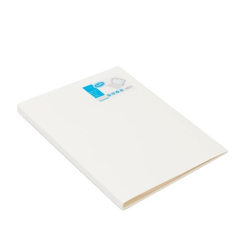 BANTEX Display Book 20 Pockets A4 3143 07 White