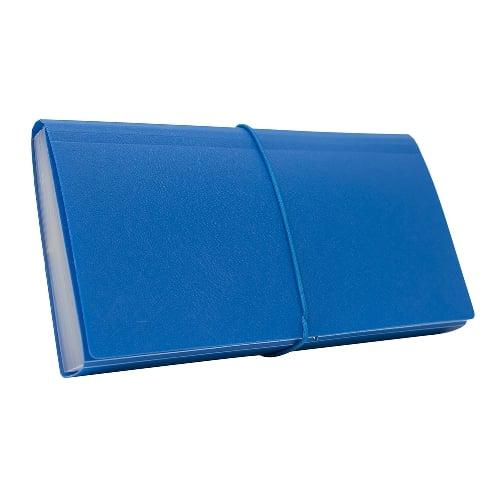 BANTEX Expanding File Cheque 12 Pockets Cobalt Blue 8811 11