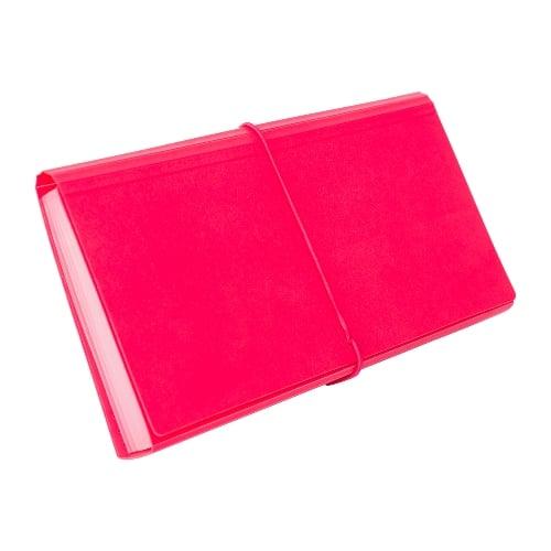 BANTEX Expanding File Cheque 12 Pockets Melon 8811 63
