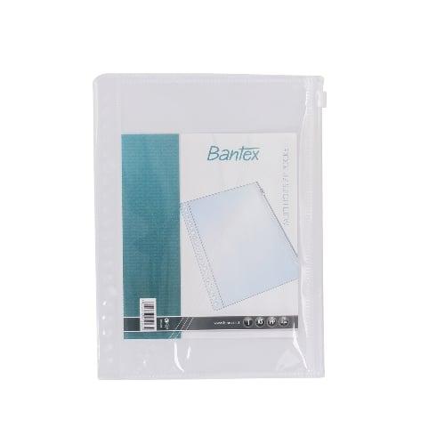 BANTEX Multiholes Zipper Pocket 20 Holes A5 8072 08