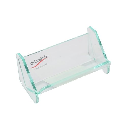 DEFLECTO Glasstique Paper Clip Holder 542190