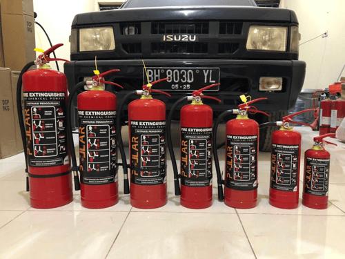 Apar 5kg Pollar ABC Dry Chemical Powder DCP Racun Pemadam Api 5 kilo
