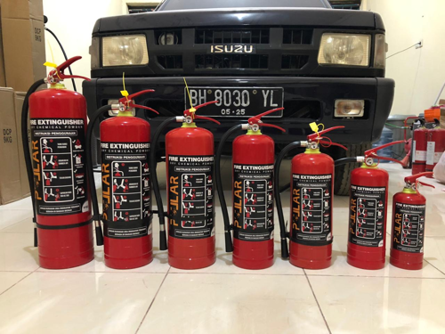 Apar 9kg Pollar ABC Dry Chemical Powder DCP Racun Pemadam Api 9 kilo
