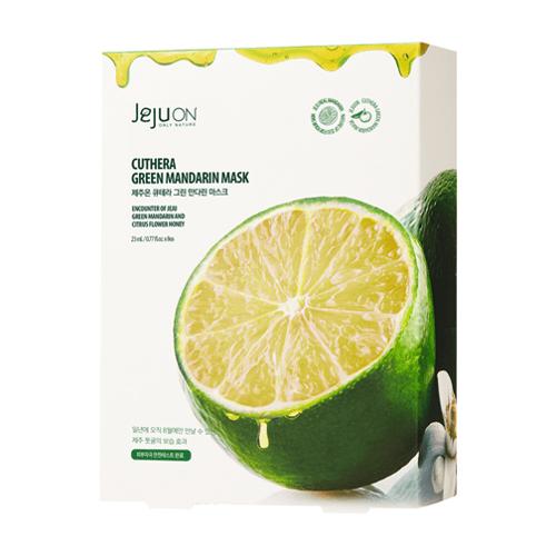JEJUON Cuthera Green Mandarin Mask 23mL 8sheet