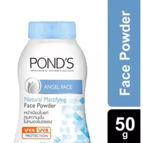 Ponds Talcum Angle Face Blue 50G