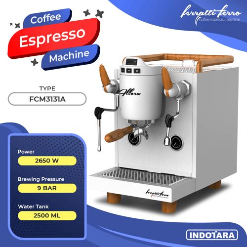 Mesin Kopi Espresso / Espresso Machine Ferratti Ferro FCM-3131A Allora