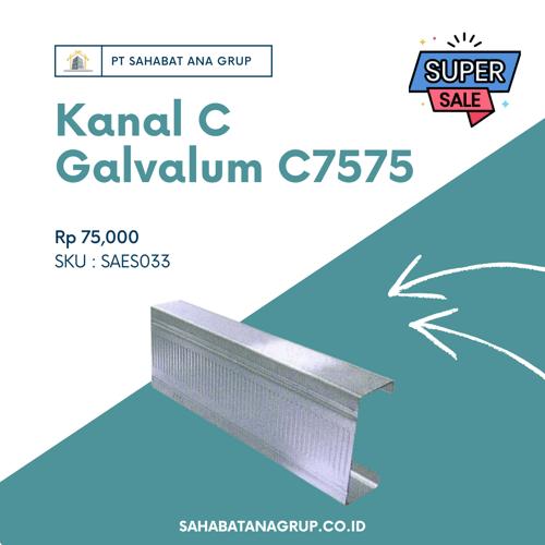 Kanal C Galvalum C7575