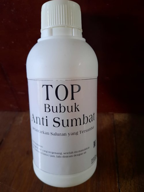 Top Bubuk Anti Sumbat Pelancar Saluran Air WC, Wastafel 400 gram