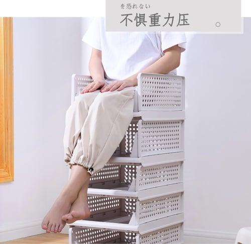 Rak Laci Storage Penyimpanan Rak pakaian Tempat Baju Rak dapur