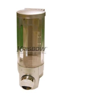 Tempat Sabun Soap Dispenser 400ML Single Silver Krisbow KW2001247