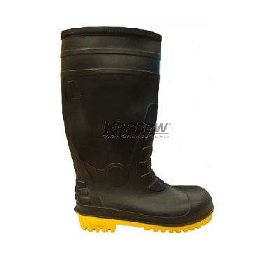Sepatu Bot Safety Boots With Steel Mid Sole Uk.39-44 Krisbow 10149401-03