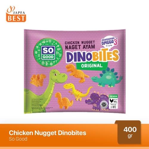 Nugget Ayam Dinobites So Good 400 gr