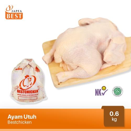 Ayam Karkas Broiler / Ayam Utuh JAPFA BEST 600 gram / 0.6 kg