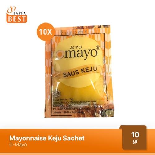 Mayonaise Keju Omayo 10 Sachet x 10gr