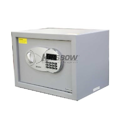 Brankas Steel Safe Grey Simple LED 250x350x250mm Krisbow KW2001253