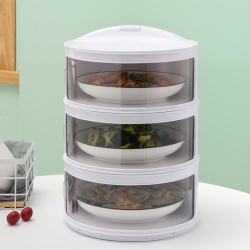 Food Storage Modern Tudung Saji 3 Susun
