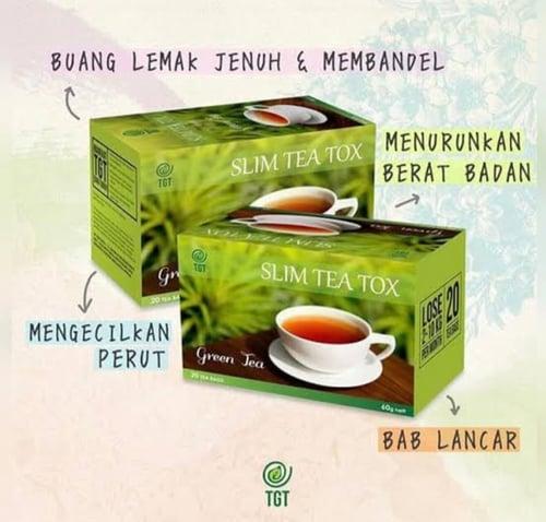 SLIM TEA BOX green tea