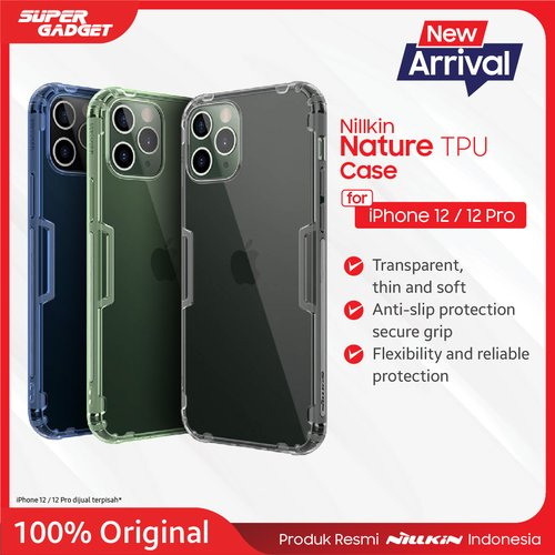 TPU case Nillkin Nature for Apple iPhone 12 series Iphone 12 Mini,12/12 Pro/12 Pro Max  - Original