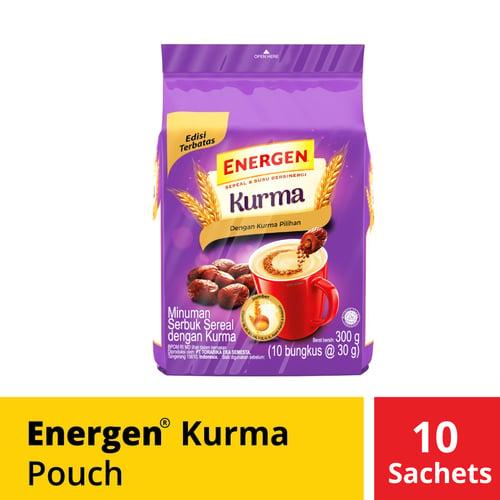 Energen Kurma Pouch 10 Sachet 30 Gr