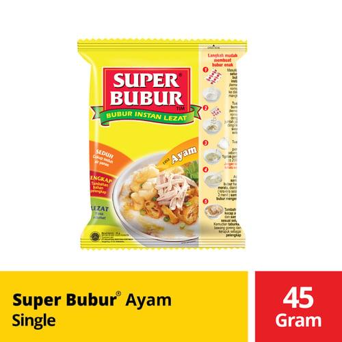 Super Bubur Ayam Single 45 Gr