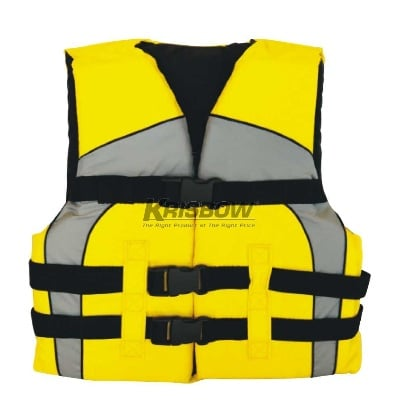 Pelampung Life Vest For Youth Yellow Grey Krisbow KW1000379
