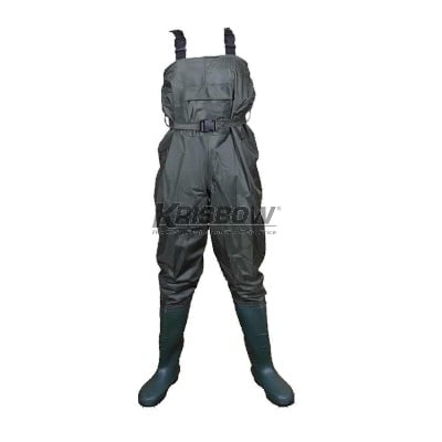 Chest Waders Green Uk.M-L-XL 39-44 Krisbow 10120106