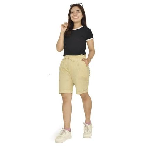 Celana Pendek Wanita mode Hotpants best seller katun poplin stret