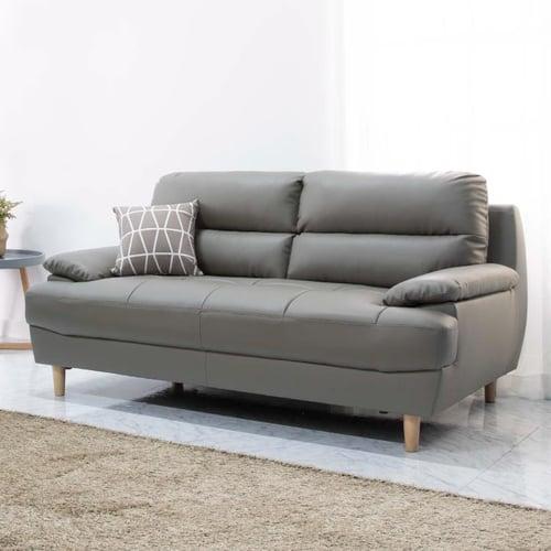 Ebonia - Reagan 3P sofa Abu-abu