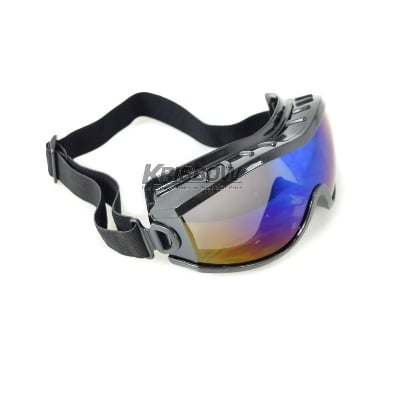 Kacamata Goggle Impact Heavy Duty Rainbow Lens Krisbow KW1000551