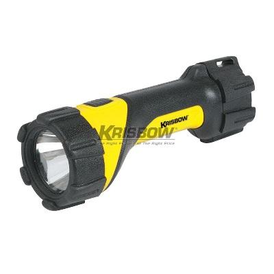 Senter LED Flashlight 60 LM 2XD Drop & Waterproof Krisbow 10108012