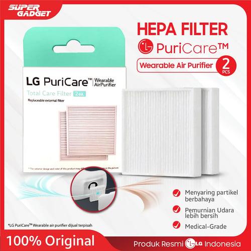 Hepa Filter masker LG PuriCare Wearable Air Purifier Menyaring Virus Bakteri Polusi Udara Original Resmi LG