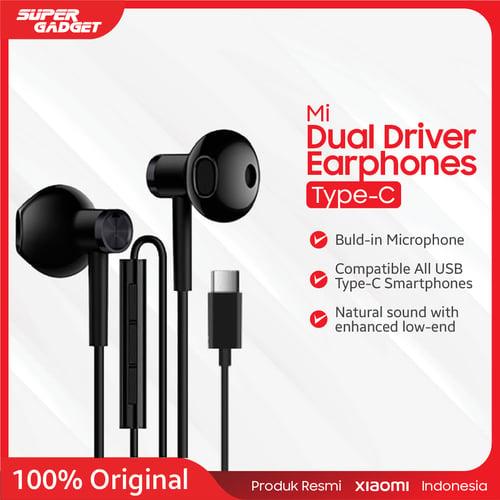 Xiaomi Mi Dual Driver Earphones with Microphone - USB Type-C, 20-40000 Hz, 32Ohm, 105dB/mW