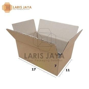 Kardus / Box / Karton / Kotak Packing - 17 x 11 x 7 cm