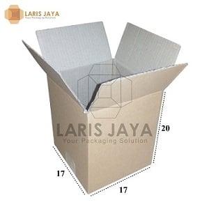 Kardus / Box / Karton / Kotak Packing - 17 x 17 x 20 cm