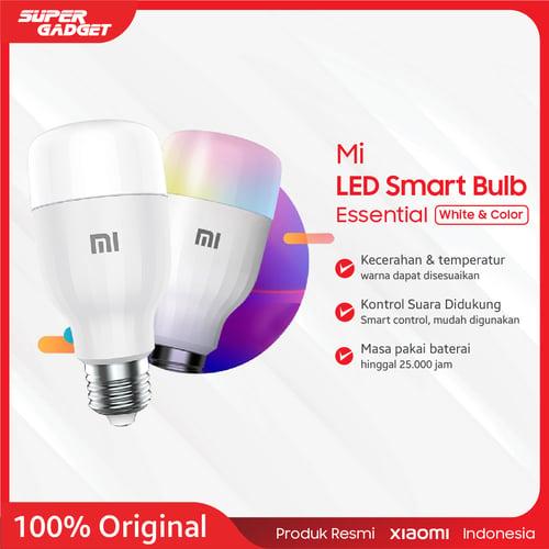 Mi LED Smart Bulb Essential ( Putih dan Berwarna ) - Original Produk