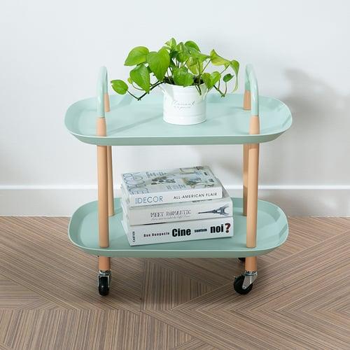 Ebonia - Buggy Troli 2 Tingkat Mint Green