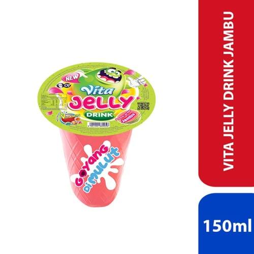 Vita Jelly Drink - Jambu 150ml - 1 Karton Isi 24 Pcs